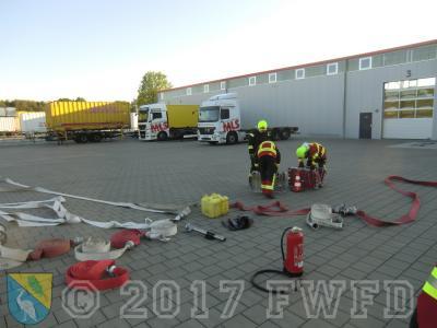 """Fotoalbum Ausbildungsthema FwDV 500 ,,Einheiten im ABC-Einsatz"""""""