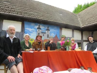 """Fotoalbum Kinderkirchen-Sommerfest """"Schreibstube"""", """"Cranachs Werkstatt"""" und """"Hans Luffts Druckerei"""""""