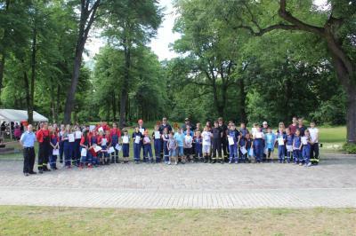 Fotoalbum Wettkampf Jugendfeuerwehr