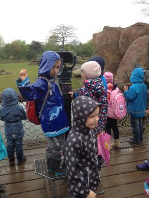 Fotoalbum Vorschulkinder im Leipziger Zoo