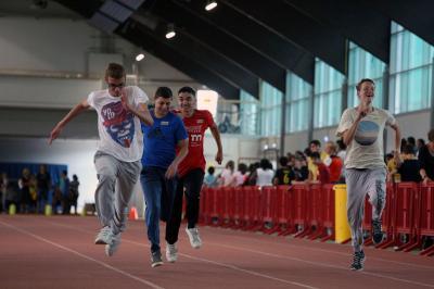 Fotoalbum Sportfest in der Leichtathletikhalle Arena-Sportpark 2017