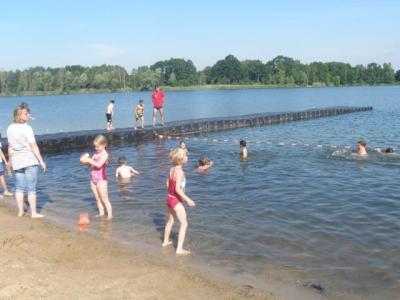 Fotoalbum Schulausflug an den Baggersee in Gusow