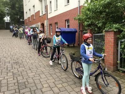 Fotoalbum Fahrradprüfung 2017