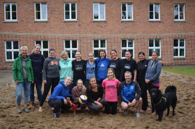 Fotoalbum Die Ladybulls im Sand