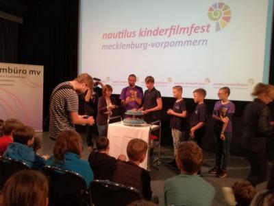"""Fotoalbum Kinderfilmfest """"Nautilus"""" in Wismar"""