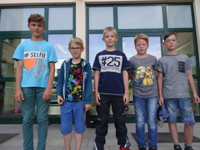 Fotoalbum Sportlichste Schüler