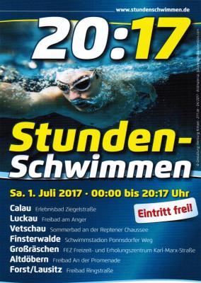 Fotoalbum Stundenschwimmen 2017
