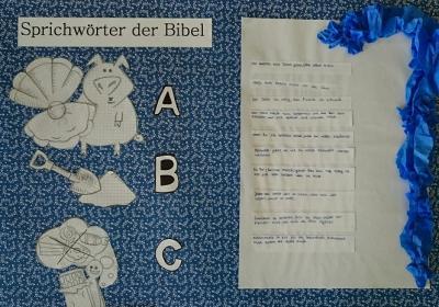 """Fotoalbum Projektwoche """"Religionen - Judentum und Christentum"""""""