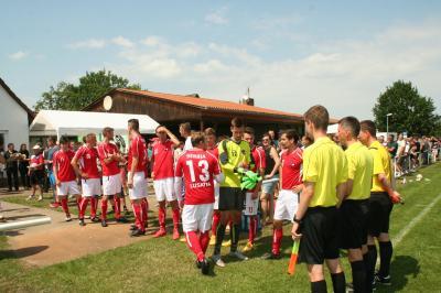 Fotoalbum Das erste Spiel der Wendischen Fußballauswahl
