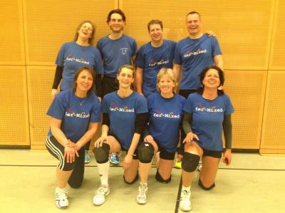 Fotoalbum Volleyball 6er Mixed 2017