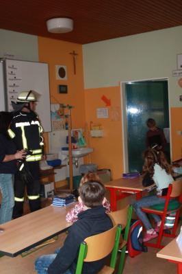 Fotoalbum Brandschutzerziehung in der 3b