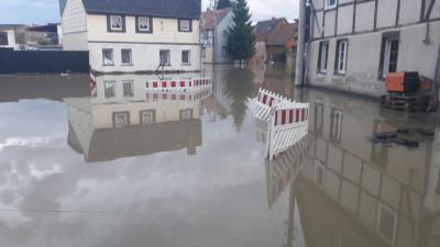 Fotoalbum Hochwassereinsatz in Harsleben