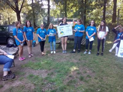 Fotoalbum Wassercamp der Anne-Frank-Gemeinschaftsschule im Wildpark Eekholt