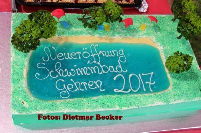 Fotoalbum Eröffnung Schwimmbad in Gehren