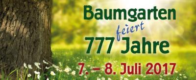 Fotoalbum 777-Jahrfeier Baumgarten
