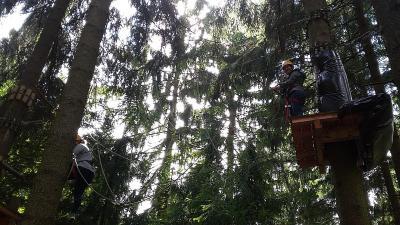 Fotoalbum Kollegiumsausflug in den Kletterpark Solling