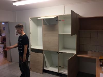 Fotoalbum neue Küche im Gerätehaus