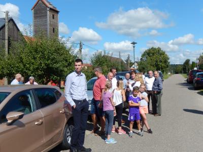 Fotoalbum Besuch der Ministerin in Groß Gottschow