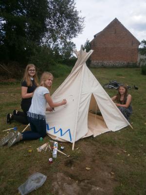 Fotoalbum Kinderfest im Pfarrgarten Friedland