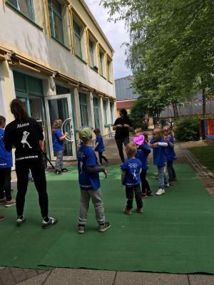 Fotoalbum Nikri Kids in der KITA ASB Zwergenland Hagenwerder zum Sommer- und Zuckertütenfest
