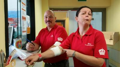 Fotoalbum Blutspendeaktion des HSKV