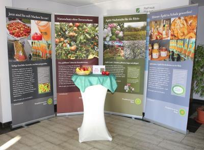 Fotoalbum Ausstellung Rhöner Apfelinitiative