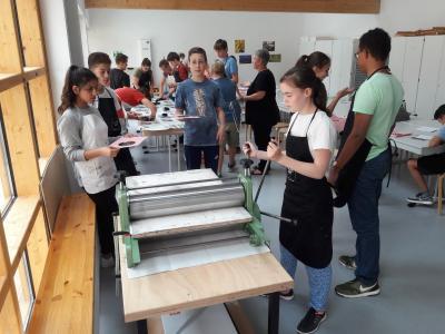 Fotoalbum Klassenfahrt der 8FLB nach Quedlinburg