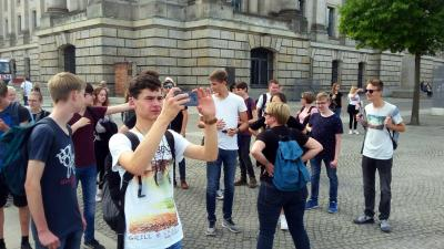 Fotoalbum Klassenfahrt der 10LB nach Berlin