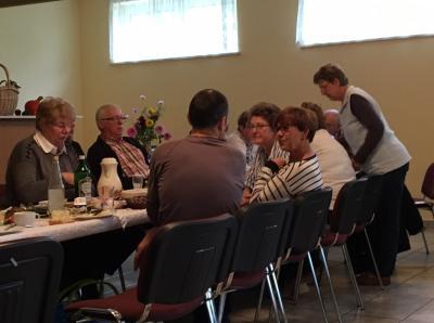 Fotoalbum Straßenfrühstück in Lohm