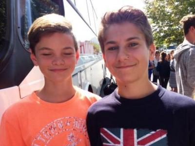 Fotoalbum Schüleraustausch Frankreich