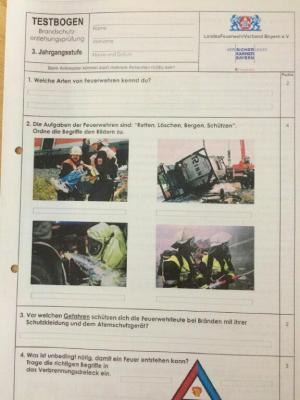 Fotoalbum Feuerwehr ehrt die Besten