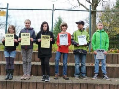 Fotoalbum Siegerehrung Schulmeisterschaften