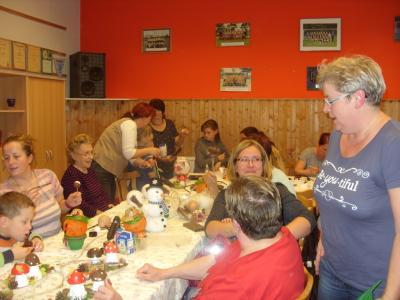 Fotoalbum Herbst- und Weihnachtsbasteln