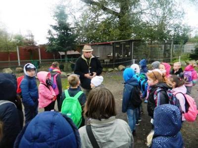 Fotoalbum Treffen mit der polnischen Partnerschule - Besuch einer Tierfarm / Kartoffelfest