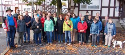 Fotoalbum 14. Wanderung Heimatverein Rhina e.V.