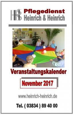 Fotoalbum Veranstaltungen im November