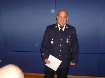 Fotoalbum Ehrung des 2.Kdt. Steffen Fabian 25 Jahre Feuerwehrdienst