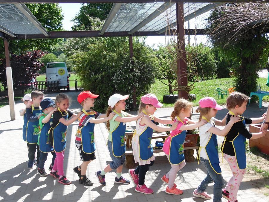 Kindertagesstatte Regenbogen Hochbeet Der Edeka Stiftung