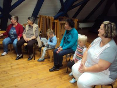 Fotoalbum Besuch der Senioren des Johanniterheimes