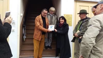 """Fotoalbum Aufnahme des Morgenstern Literaturmuseums in die """"Märkische Dichtertraße"""""""