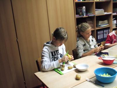 Fotoalbum Kartoffelprojekt Klasse 4