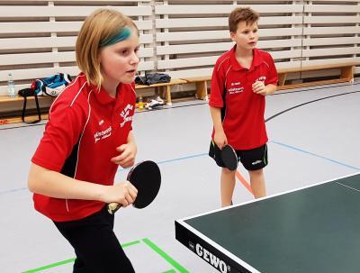 Fotoalbum Tischtennis-Nachwuchs drückt Punktspielen den Stempel auf