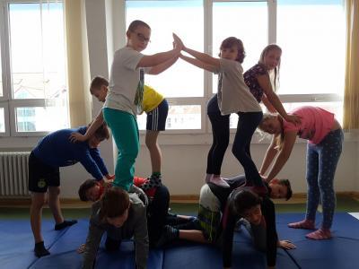 Fotoalbum Projektwoche Klasse 5 - Sport