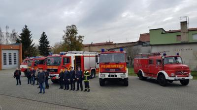 Fotoalbum Offzielle Fahrzeugübergabe: HLF 20, TLF 16/40 & TSF-W am 18.11.2017