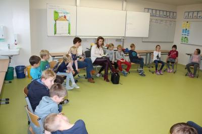 Fotoalbum Der bundesweite Vorlesetag in der Grundschule Werbig