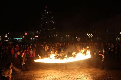 Fotoalbum Adventsleuchten auf dem Wittstocker Marktplatz 2017
