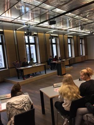 Fotoalbum Besuch der 10. Klassen Bundesrat Berlin