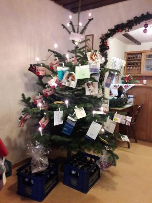 Fotoalbum Weihnachtsfeier der Feuerwehr Reundorf  mit neuen Softshelljacken