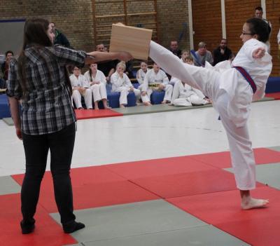 Fotoalbum Taekwondo Gürtelprüfung bei Budo-Sport Herdorf