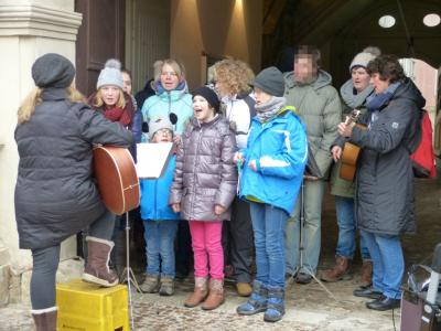 Fotoalbum Unser Chor in Quedlinburg